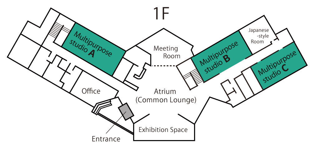 Image: Facility Map / ground floor